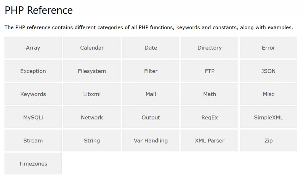 php referencer